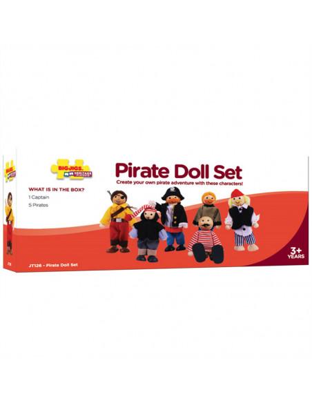 BigJigs Piraten Poppenhuispopjes