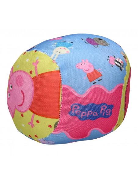 Peppa Pig Softbal met Belletje, 10cm