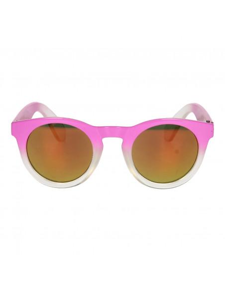 Kinderzonnebril UV Round - Roze