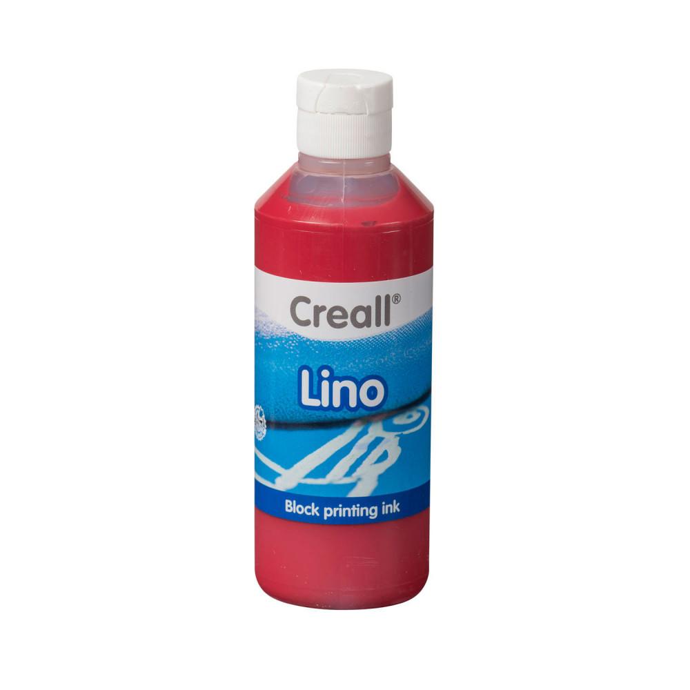 Creall Lino Blockprintverf Donkerrood, 250ml