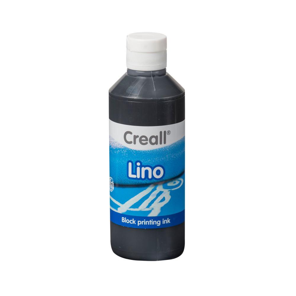 Creall Lino Blockprintverf Zwart, 250ml BT