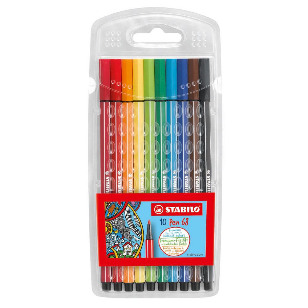 STABILO Pen 68 - 10 Kleuren