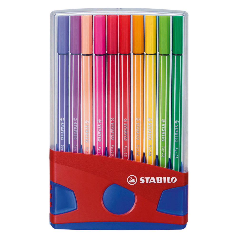 STABILO Pen 68 - 20 Kleuren