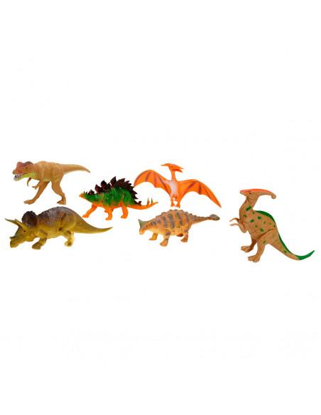 Dinosaurus Speelset, 6dlg