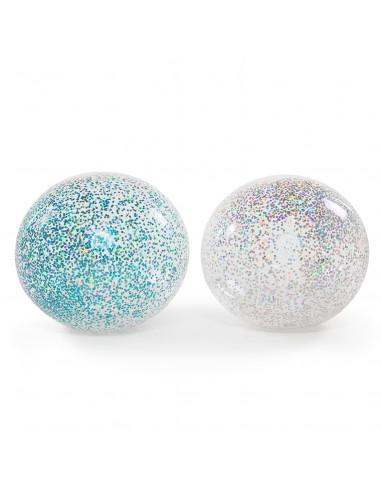 Opblaasbare Glitter Bubbelbal, 85 cm