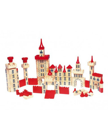 Goki houten kasteel 150 delig