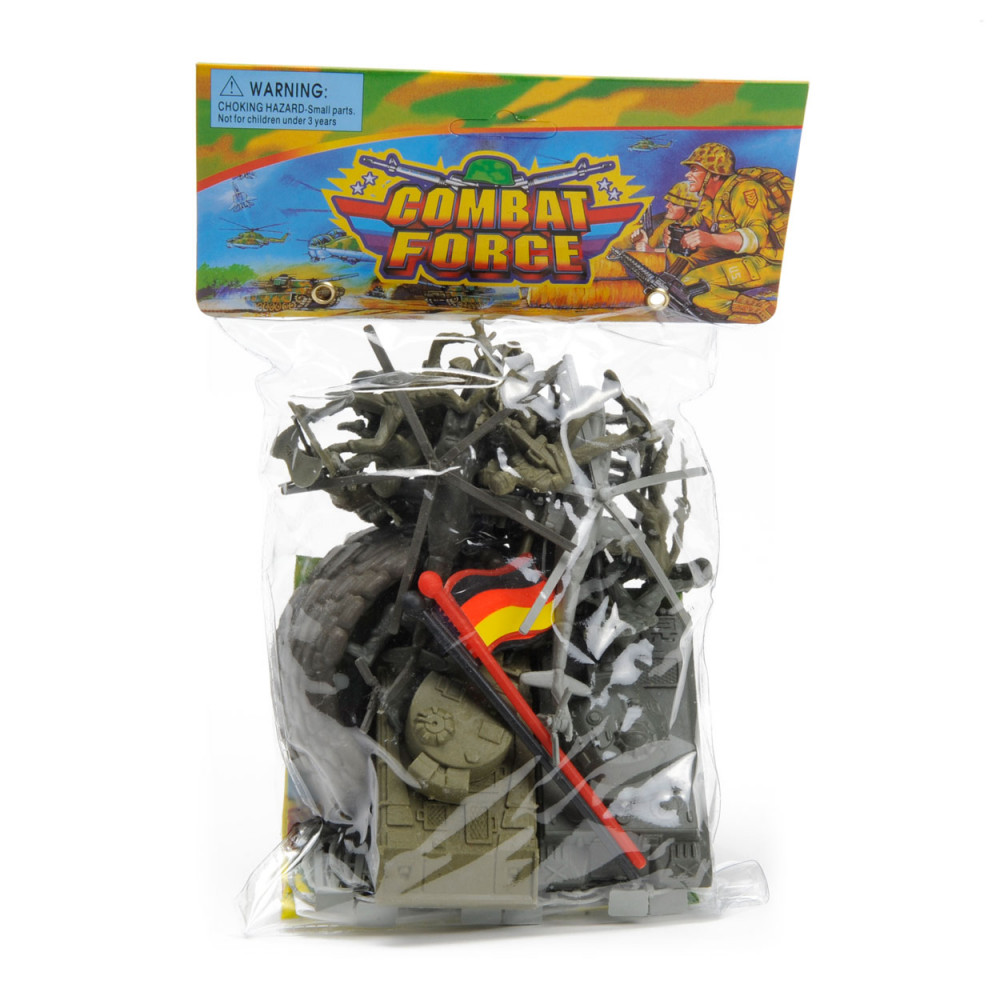 Soldaten Speelset met Speelmat