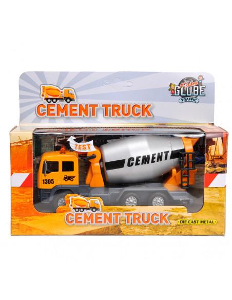 Pull Back Cementwagen met Licht en Geluid