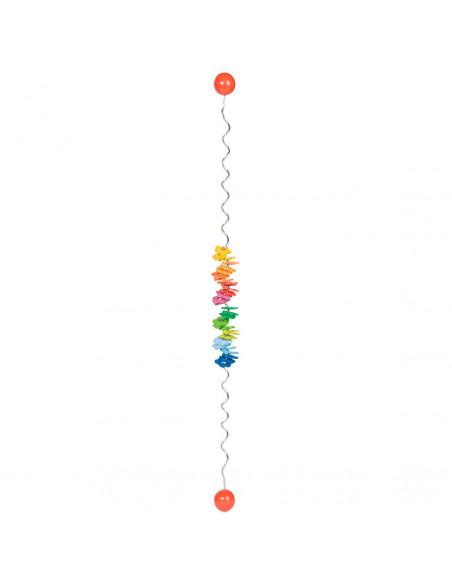 Houten Kleuren Spiraal BT