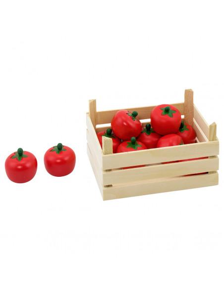 Goki Houten Tomaten in Kist, 10dlg.