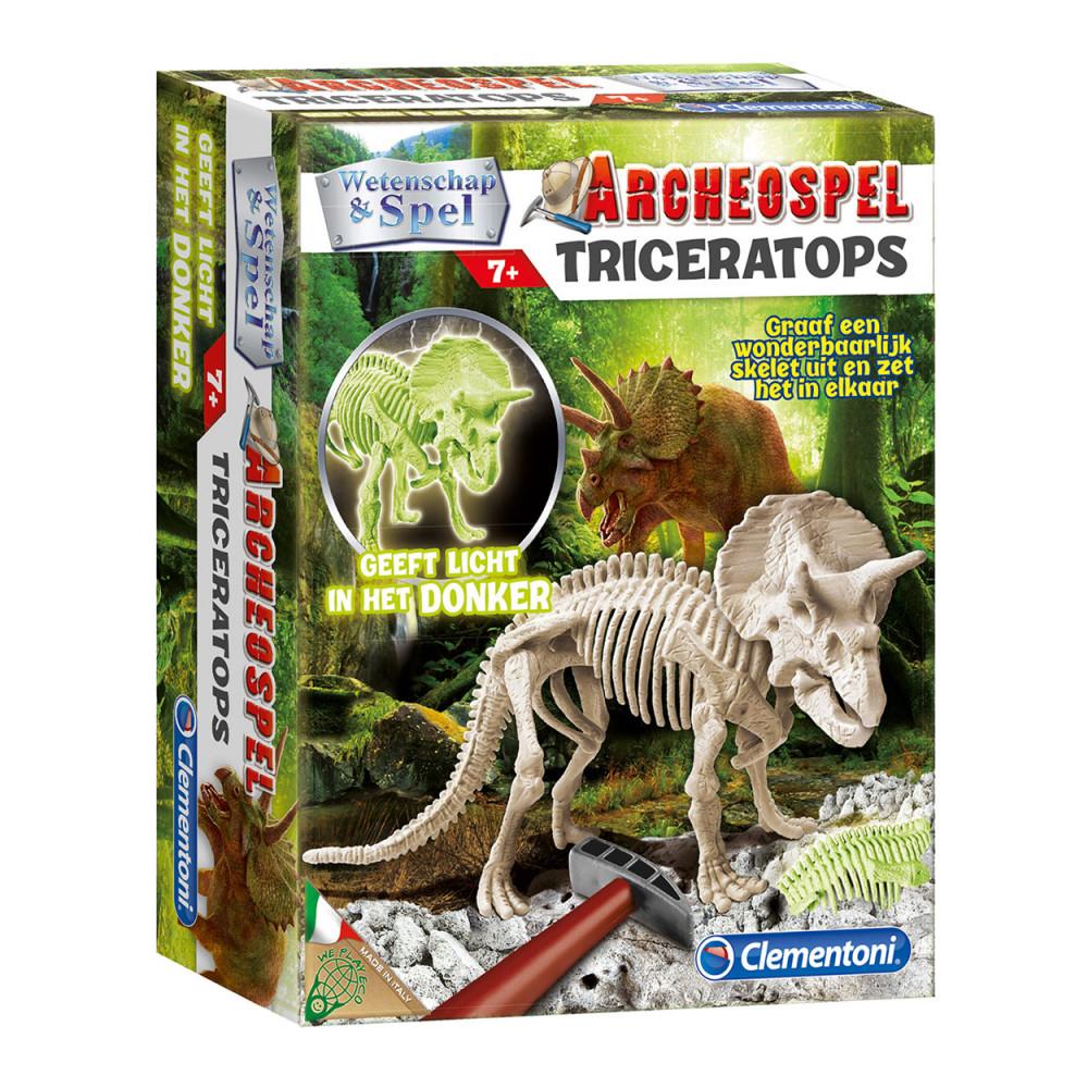 Wetenschap en Spel - Triceratops