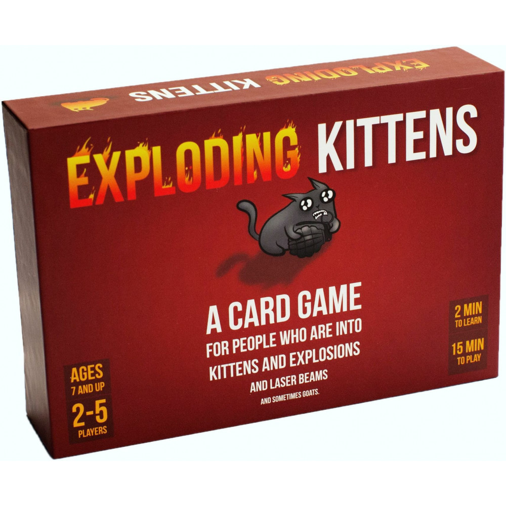 Exploding Kittens: Original Edition (ENGELS) (EKG-ORG1-1) BT