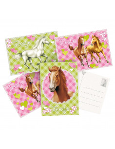 Uitnodigingskaarten Paarden