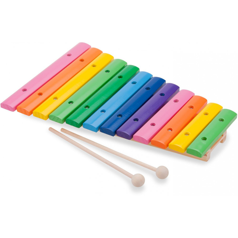 Xylofoon: 12 tonen New Classic Toys 33x20x5 cm (10236) BT