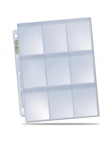 9 Pocket pages: Secure Platinum 3 gaten
