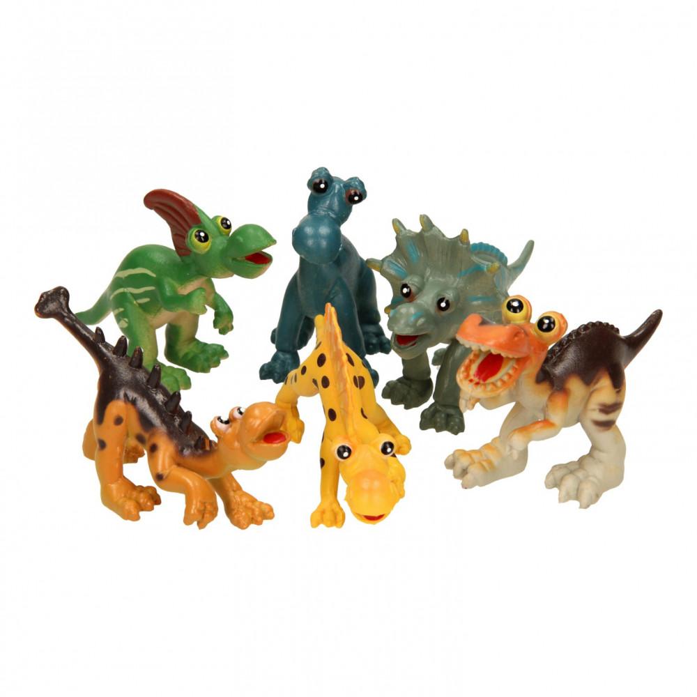 Guitige Dino's Speelset, 6dlg.