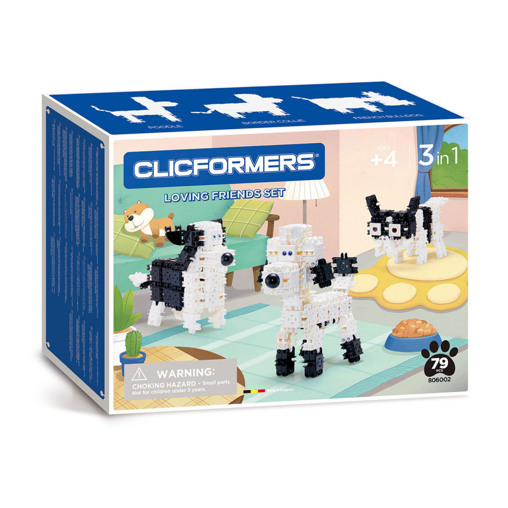 Clicformers Loving Friends Set,79dlg.