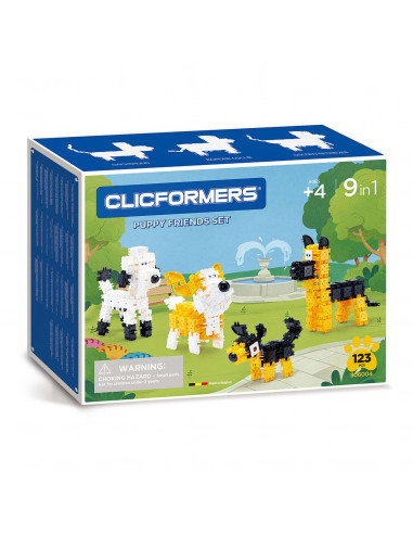 Clicformers Puppy Friends Set,...