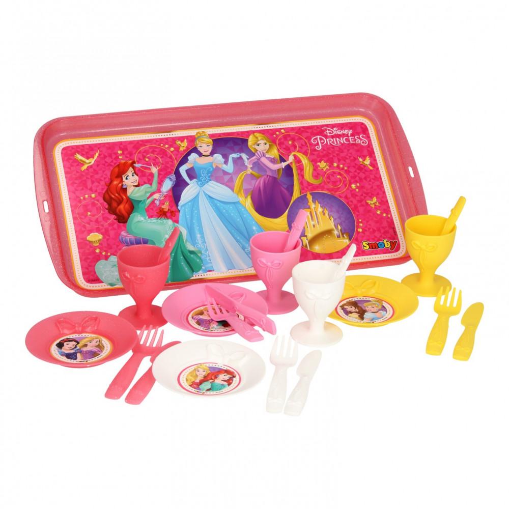 Smoby Disney Prinses Picknickset, 21dlg.