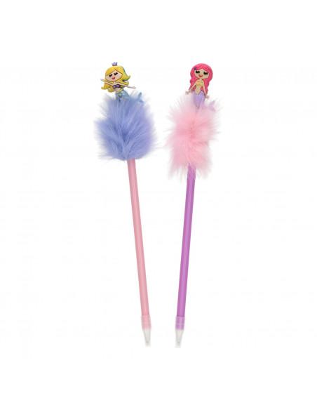 Fluffy Pen met Zeemeermin