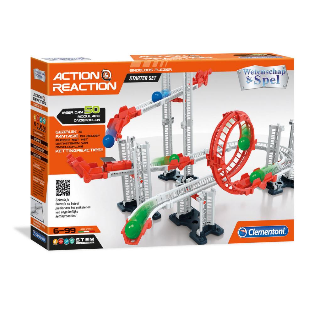 Clementoni Action & Reaction - Startset, 50dlg. BT