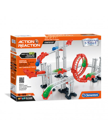 Clementoni Action & Reaction - Startset, 50dlg.