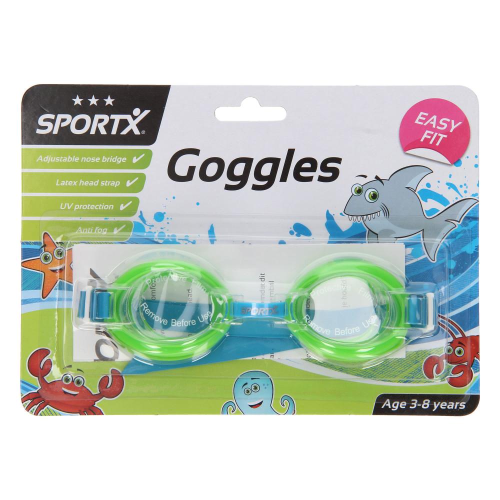 SportX Kids Zwembril Comfort - Groen
