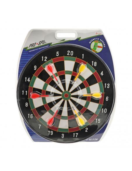 Magnetisch Dartbord met 6 Pijlen