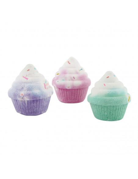 Crayola Fresh Vibes Bruisballen Cupcakes, 3st.