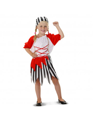 Verkleedset Pirate Girl - S