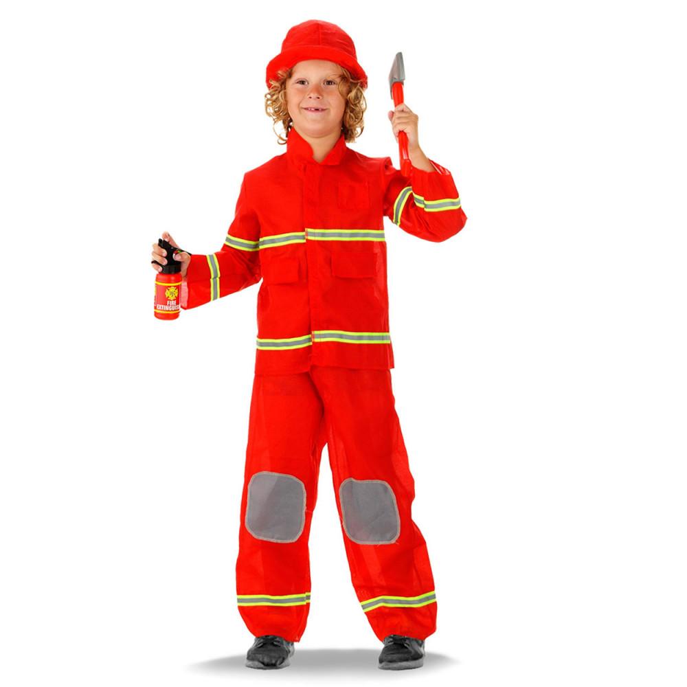 Verkleedset Brandweerman - S