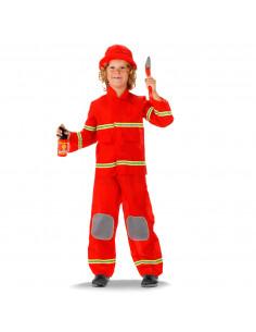 Verkleedset Brandweerman - M