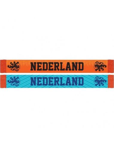 Sjaal holland oranje/blauw KNVB...