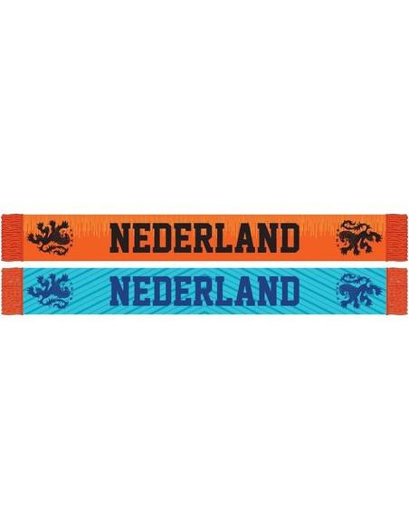 Sjaal holland oranje/blauw KNVB (111913) BT