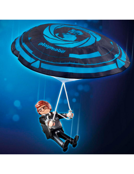Playmobil the Movie 70070 Rex Dasher met Parachute