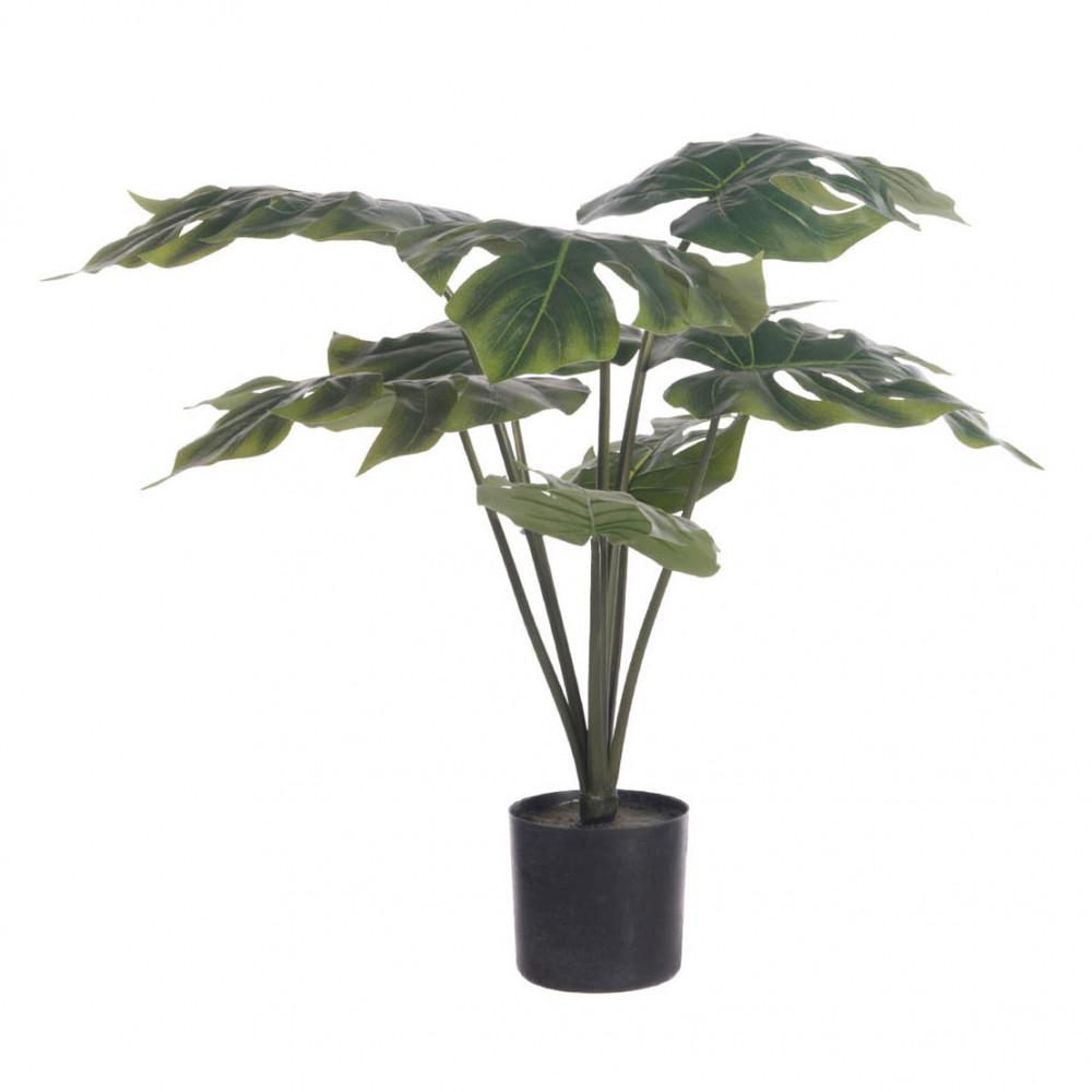 Kunstplant 'Grand Split Philo' in Pot, 63,5cm