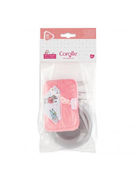 Corolle Mon Premier Poupon - Babypotje met Doekjes