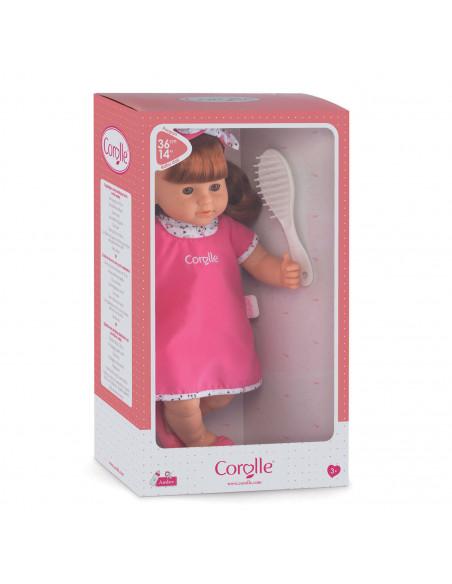 Corolle Mon Grand Poupon Babypop met Haar - Ambre, 36cm