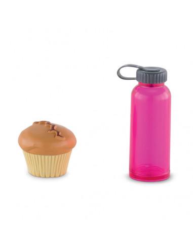 Ma Corolle - Poppen Waterfles en Muffin