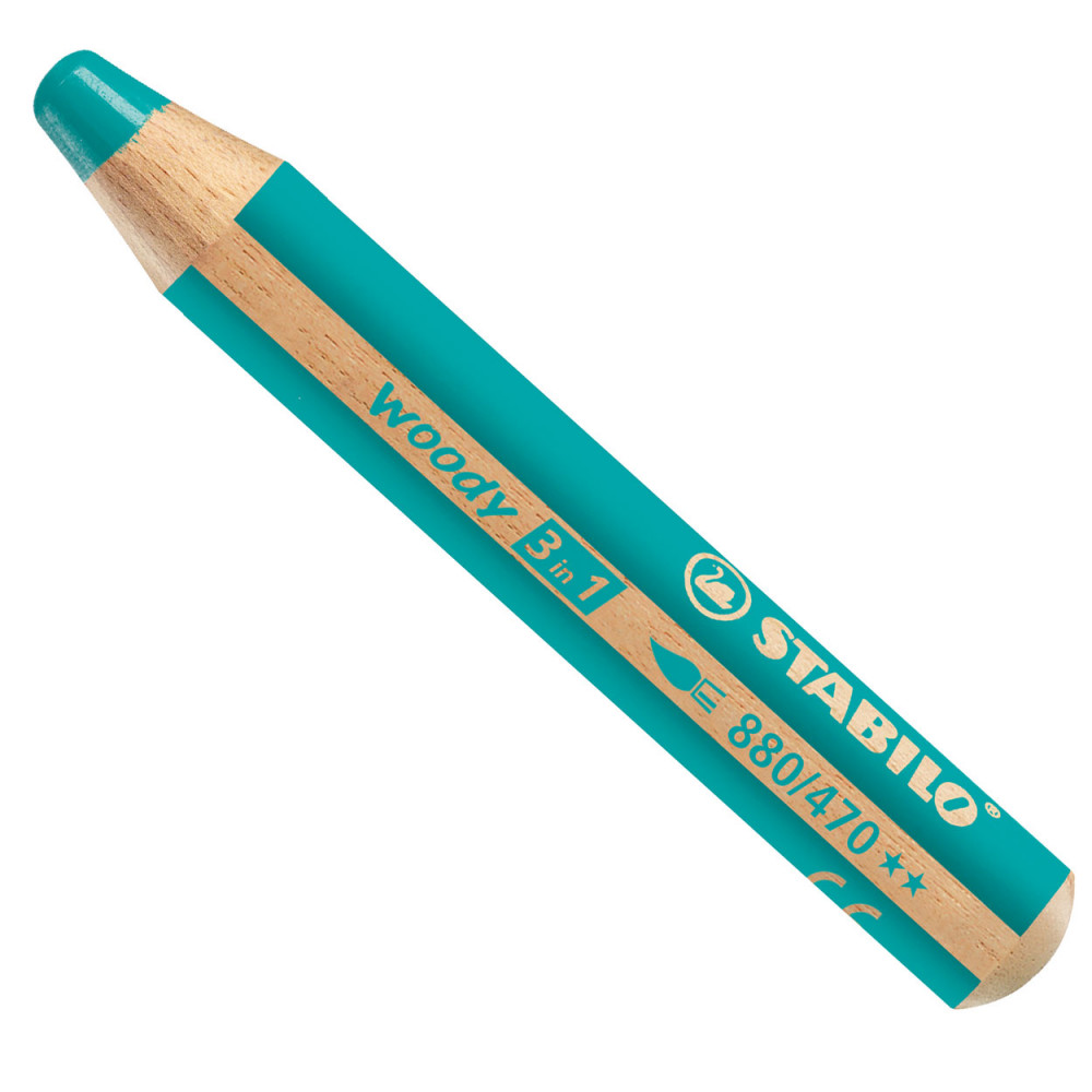 STABILO Woody 880 3in1 - Turquoise