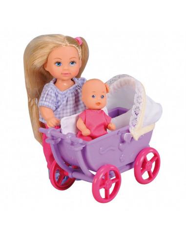 Evi Love Doll Walk Paars