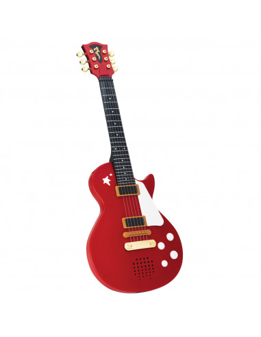 Rockgitaar, rood