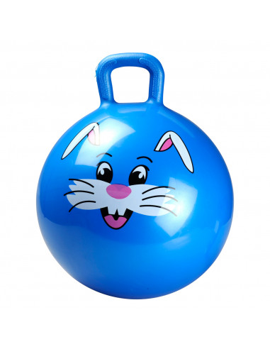 Blauwe Skippybal Dier diameter 45 cm