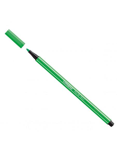 STABILO Viltstift - Fluoriserend Groen (68/033)