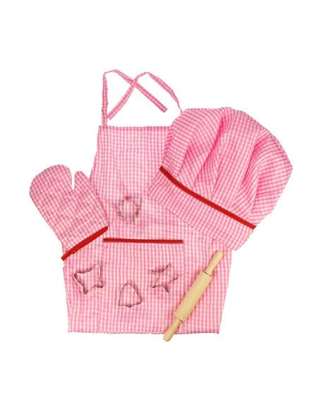 BigJigs Chef Kok Set Roze