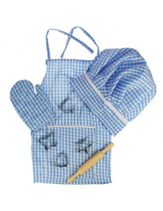 BigJigs Chef Kok Set Blauw