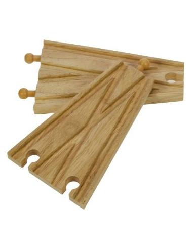 BigJigs houten Rails 2-Weg Splitsing...