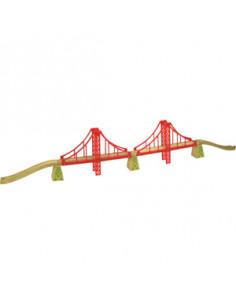 BigJigs houten Dubbele Hangbrug