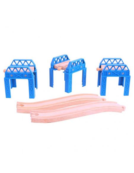 BigJigs houten Constructie Set