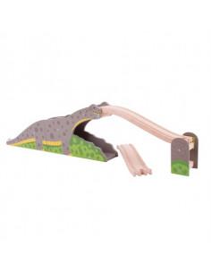 BigJigs houten Brug Dinosaurus